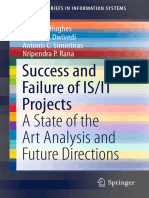 Success and Failure of is-IT Projects - A State of the Art Analysis and Future Directions