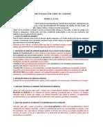 Examen Derecho Agrario (Primer Evaluacion) 2013.
