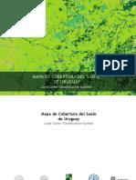 Mapa de Cobertura Del Suelo de Uruguay Land Cover Classification System
