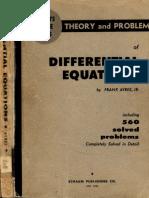 Ayres DifferentialEquations