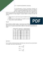 CARTAS U - Muestra Variable y Demérito