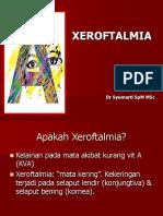 Deteksi Dini Xeroftalmia