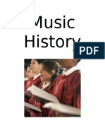 Music History Notebook Cover