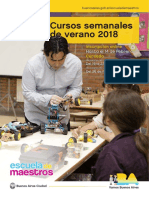 Cartilla Semanales 2018 1