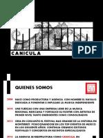Presentacion Canicula