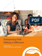Technoserve - Enterprising Girls Making a Difference Booklet