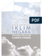 Malaysia National Climate Change Policy