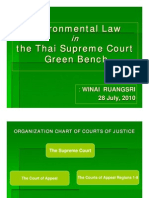 Winai Ruangsri - Environmental Law in the Thai Supreme Court Green Bench