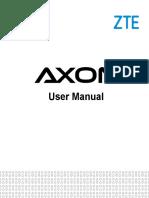 AXON(A1R) English User Manual