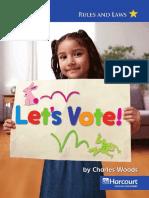 G1 Social Studies - Lets Vote!
