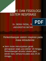 Sistem Respirasi Untuk Keperawatan
