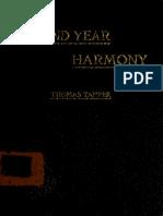 Second Year Harmon 00 Tapp