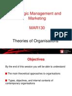 Theories of Organisations