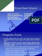 Formulasi Emulsi Topikal Ol.oliv