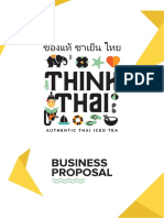 Think Thai Tenancy Proposal