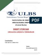 Referat - Circulatia Juridica a Terenurilor