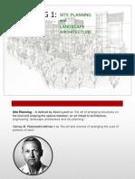 Landscape Arch. Basics- PPT