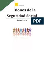DATOS MACRO ESPAÑA. Pensiones Enero 2018