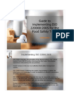 Guide to Implementing ISO 22000
