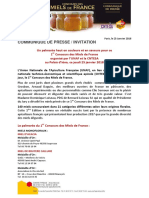 Unaf - Palmares 1er Concours Des Miels de France