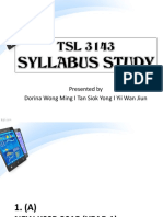 Syllabus Study
