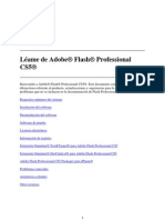 Adobe Flash Professional CS5 Read Me