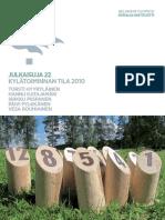 Hyyryläinen et al 2011 Kylätoiminnan tila 2010