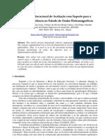 Aplicativo Educacional de Avaliação com Suporte para a Educação a Distância no Estudo de Ondas Eletromagnéticas
