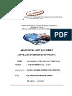 Trabajo Colabotarivo Administraci{on Logistica Ciclo v 2017 II.