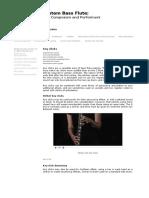 Bass flute writing page 1