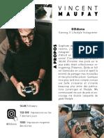 Vincent - 0ldisme - PressKit Instagram