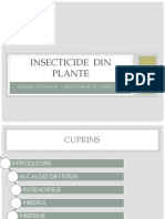 Insecticide Din Plante