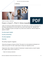 Kaaro o Inaro_—Part 2 _ Tepet Na Saray Kabataan