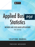 Applied Business Statics Fourth Edition