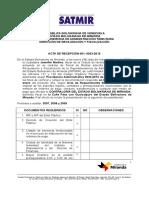 Acta de Recepcion 001-0033-2012