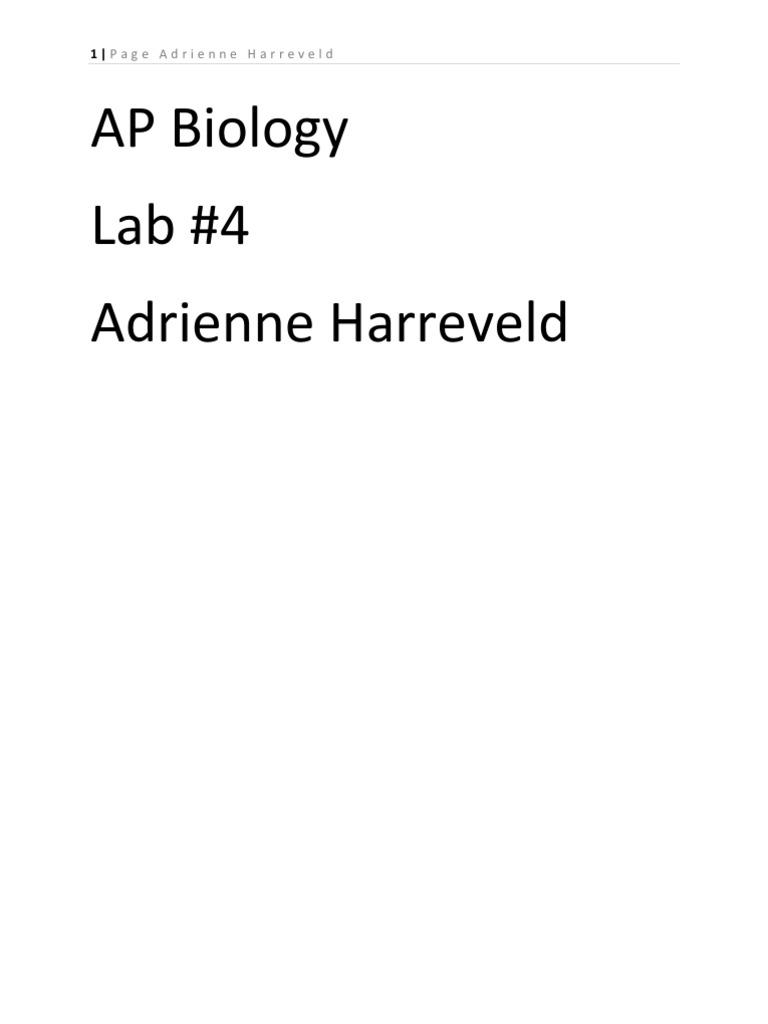 Ap bio essays