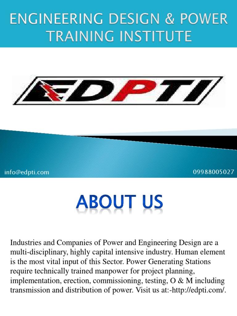 Engineering Design Power Training Institute Instrumentation Engineering Besplatnaya 30 Dnevnaya Probnaya Versiya Scribd