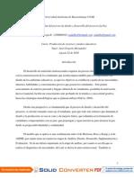 Actividad 1.4  Adaptación de la tipología de textos al modelo seleccionado para el proyecto la Paz