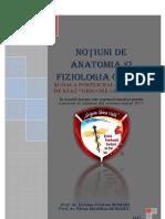 Noțiuni de Anatomia Și Fiziologia Omului