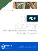 Curso Superior en Robots Industriales Implantacion Componentes Y Programacion
