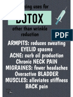 Unique uses for botox