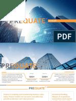Corporate Capability of Prequate [Jan 2018]