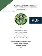 Swat Deradicalization Model