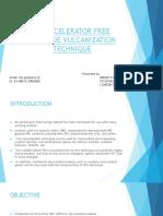 An Accelerator Free Peroxide Vulcanization Technique