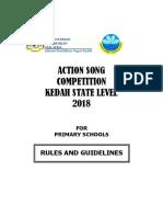 Action Song Kedah 2018