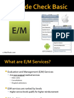 E/M Code Check Basic Overview