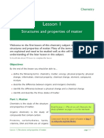 Chemistry Lesson 1