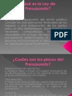 Presupuesto Fiscal Chileno