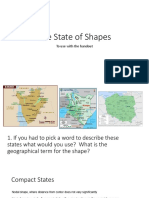 the state of shapes