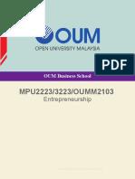 MPU2223_3223 Entreprenuership